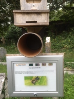 Home for Mason Bees