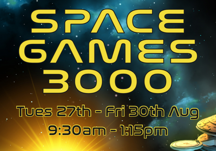 Space Games Banner